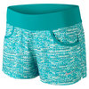Women`s Victory Printed Tennis Short Turbo Green by NIKE
