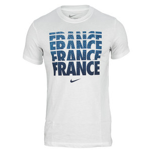 NIKE MENS FFF CORE TYPE TEE WHITE