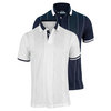 FILA Men`s Heritage Zig Zag Tennis Polo