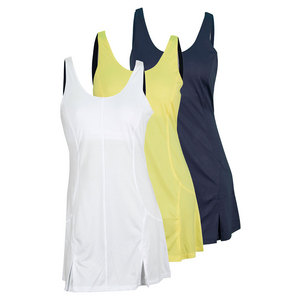 FILA WOMENS HERITAGE ZIP BACK TENNIS DRESS