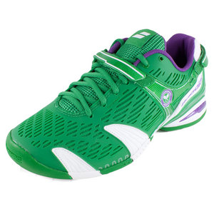 BABOLAT MENS PROPULSE 4 WIMBLEDON TNS SHOES GRN