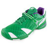 BABOLAT juniors` propule 4 wimbledon tennis shoes green