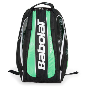BABOLAT TEAM WIMBLEDON TENNIS BACKPACK BLACK/GN