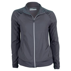LIJA WOMENS TWO TONE TENNIS JACKET