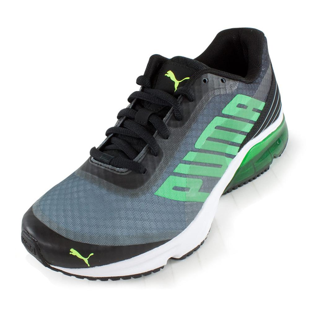 Men's Powertech Defier Fade Running Shoes Black And Tradewinds