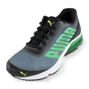 Men`s Powertech Defier Fade Running Shoes Black and Tradewinds