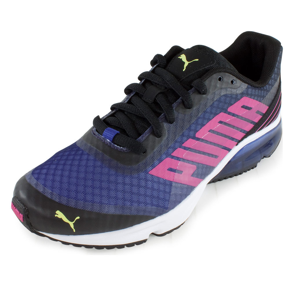 Women's Powertech Defier Fade Shoes Black And Beetroot