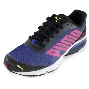 PUMA WOMENS POWERTECH DEFIER FADE SHOES BK