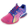 PUMA Women`s PowerTech Voltaic Shoes Spectrum Blue and Beetroot Purple