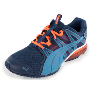 PUMA MENS POWERTECH VOLTAIC SHOES BLUE/PEACH