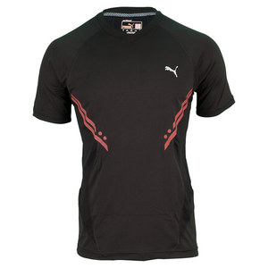 PUMA MENS PURE TECH SHORT SLEEVE TEE