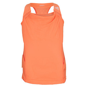 adidas GIRLS ADIZERO TENNIS TANK GLOW ORANGE