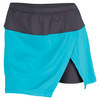 Women`s Island Affair 13.5 Inch Tennis Skort Teal by BOLLE