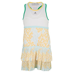 adidas GIRLS STELLA BARRICADE DRESS WH/JOY ORAN