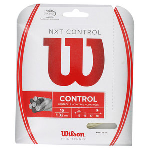 WILSON NXT CONTROL 16G TENNIS STRING NATURAL