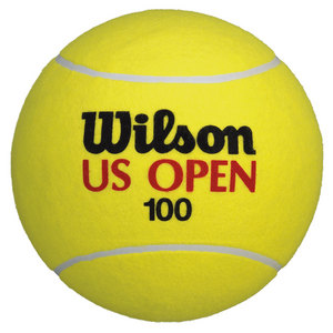 WILSON US OPEN 9IN JUMBO 100YR TNS BALL YL