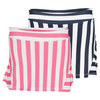Girls` Striped Ruffle Back Tennis Skort by FILA