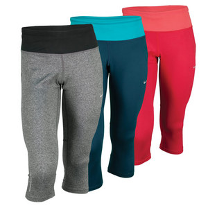 NIKE WOMENS DRI-FIT EPIC RUN CAPRI