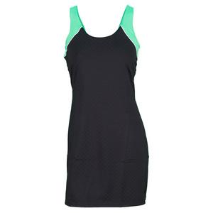 FILA WOMENS COLLEZIONE DRESS BLACK/AND TUC