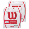 Synthetic Gut Control Tennis String WHITE