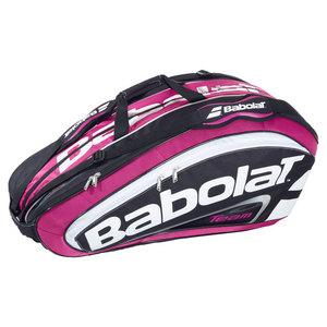 BABOLAT TEAM 12 PACK TENNIS RACQUET HOLDER PINK