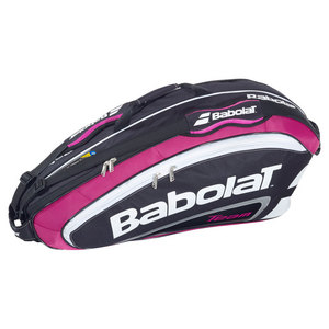 BABOLAT TEAM 6 PACK RACQUET HOLDER PINK