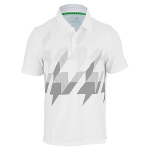 NEW BALANCE MENS GEOSPEED TENNIS POLO WHITE