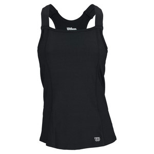 WILSON WOMENS TOUR TENNIS TANK II BLACK