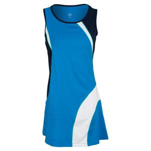 TAIL WOMENS HOLLY TENNIS DRESS OCEAN BLUE