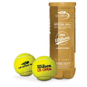 WILSON 100 YR US OPEN XD TENNIS BALL CAN