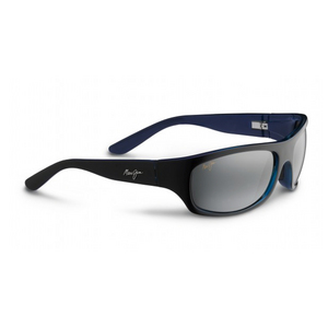 MAUI JIM SURF RIDER SUNGLASSES BLACK/NEUTRAL GRAY
