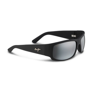 MAUI JIM WORLD CUP SUNGLASSES MAT BK/NEUTR GY