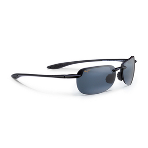 MAUI JIM SANDY BEACH SUNGLASSES GLS BK/NEUT GY