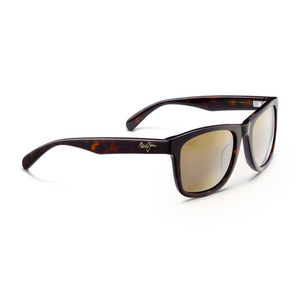 MAUI JIM LEGENDS SUNGLASSES DK TORTOISE/HCL BRNZ