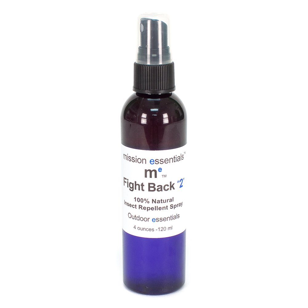 Fight Back 2 Natural Bug Repellent 4 Oz