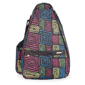 LIFE IS TENNIS AH-MAZE-ING SMALL TENNIS SLING BAG