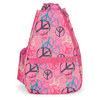 LIFE IS TENNIS Love and Peace Small Tennis Sling Bag