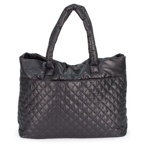 FILA WOMENS COLLEZIONE QUILTED TENNIS BAG BK