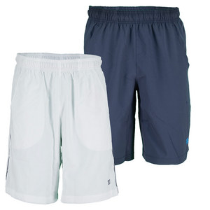 WILSON MENS CARDIFF MESH SD PNL 10IN TNS SHORT