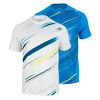 Men`s Cardiff Blur Stripe Tennis Crew by WILSON