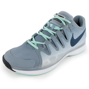 NIKE MENS ZOOM VAPOR 9.5 TOUR SHOES MAG GY/MT