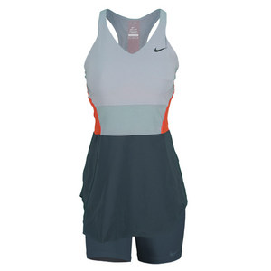 NIKE WOMENS MARIA DAY TENNIS TUNIC LT MAG GY