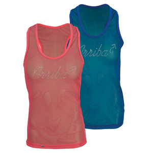 DOUE WOMENS TRANSPARENT TENNIS TANK