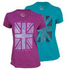 NIKE Women`s Union Grass Short Sleeve Tennis Tee