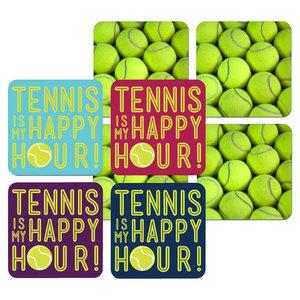 Tennis Coaster 4 Pack