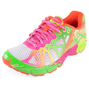 ASICS JUNIORS GEL NOOSA TRI 9 RUN SHOES WH/LIM