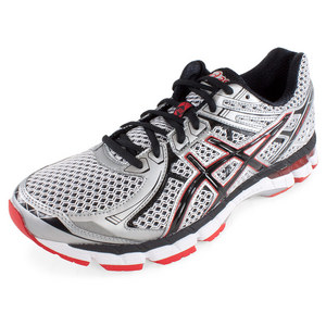 ASICS MENS GT 2000 2 RUN SHOES WHITE/BLACK