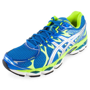 ASICS MENS GEL NIMBUS 16 RUN SHOES IS BL/LTING