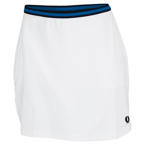 FRED PERRY WOMENS A LINE TENNIS BALL SKORT WHITE