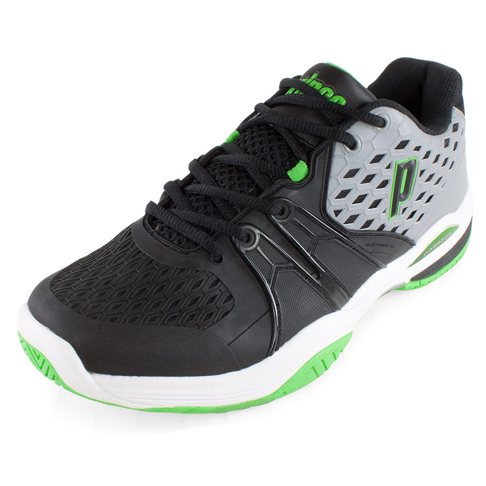 s warrior tennis shoes gray and black